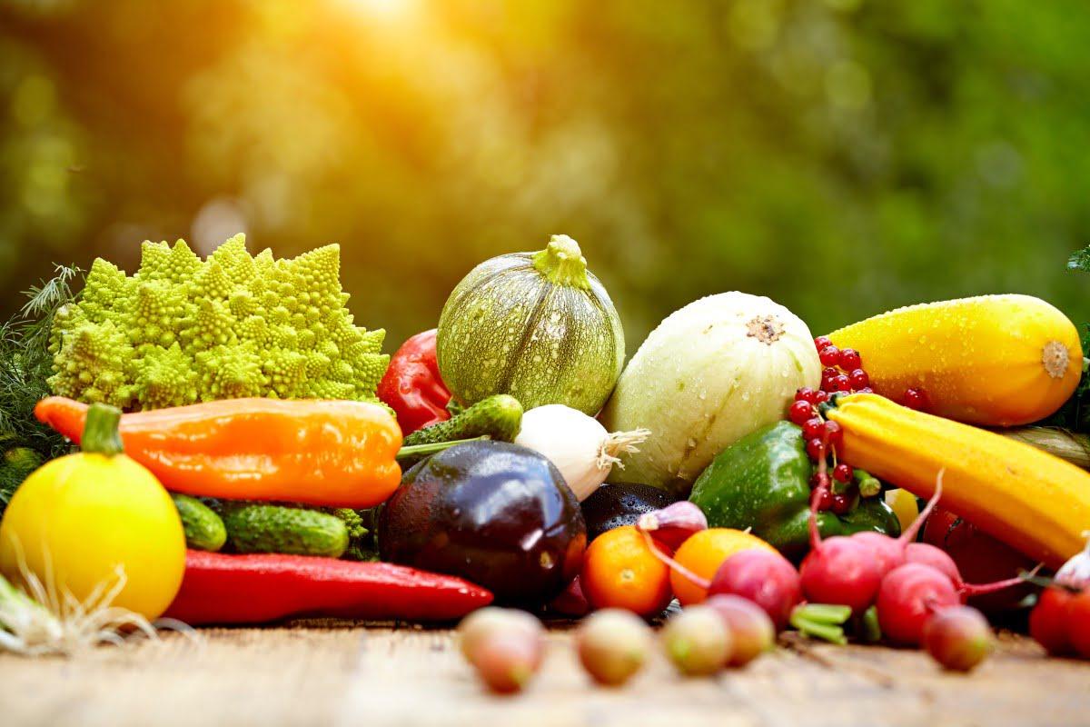 Grøntsager og frugt
